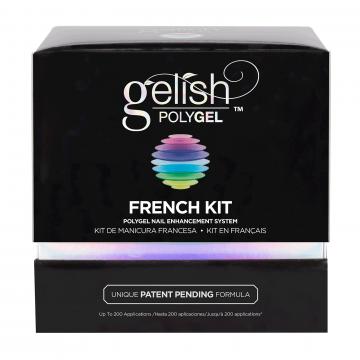 Polygel Gelish French Kit
