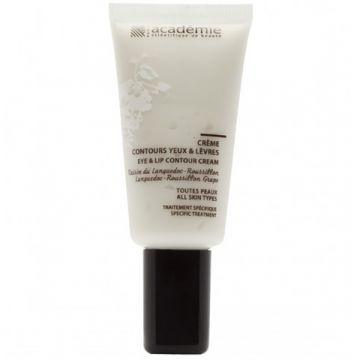 Crema Academie Aromatherapy Contours Yeux & Lèvres pentru conturul ochilor si al buzelor 15 ml