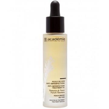 Ulei Academie Aromatherapy Huile de Soin Anti-Imperfections pentru tenul cu imperfectiuni 30 ml