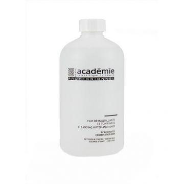 Apa demachianta tratament Academie Visage Tonifiante pentru ten normal/mixt 500 ml