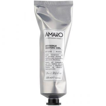 Gel de ras hidratant Amaro Invisible Shaving Gel pentru barbierit 125ml