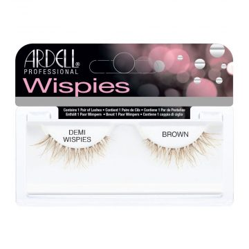 Gene false Ardell Invisibands Demi Wispies Brown