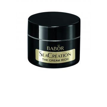 Crema Babor SeaCreation The Cream Rich cu efect antiage global si textura bogata 50ml