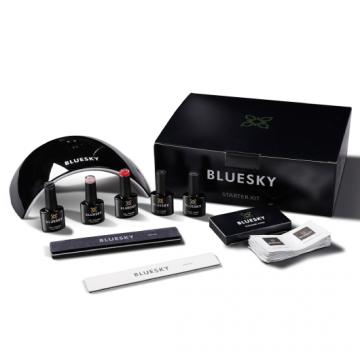 Starter Kit pentru unghii Bluesky