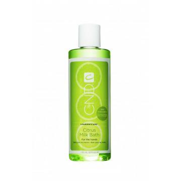 Lotiune pentru baie CND Citrus Milk Bath cu aroma de lamaie 236ml