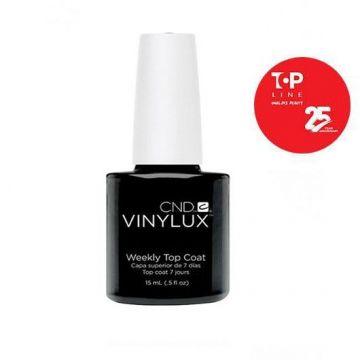 Lac unghii saptamanal CND Vinylux Top Coat 15 ml