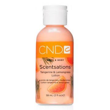 Lotiune hidratanta CND Scentsation Tangerine & Lemongrass pentru maini si picioare 59ml