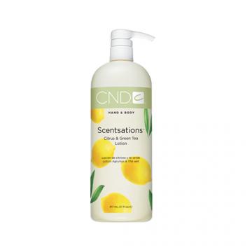 Lotiune hidratanta CND Scentsation Citrus & Green Tea pentru maini si picioare 917 ml