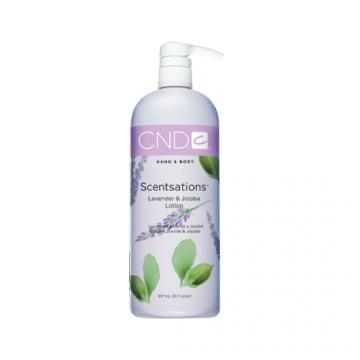 Lotiune hidratanta CND Scentsation Lavender & Jojobuca pentru maini si picioare 917 ml