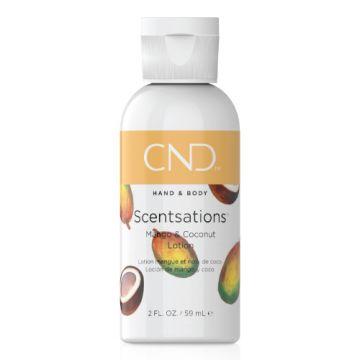 Lotiune hidratanta CND Scentsation Mango & Coconut pentru maini si picioare 59ml