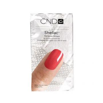 Folii aluminiu CND Shellac Remover Wraps Foil 100buc