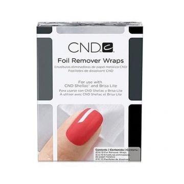 Foil Remover Wraps CND 10buc