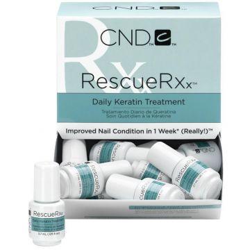 Tratament CND Esential Rescue RXX pentru repararea unghiilor 40x3.75ml