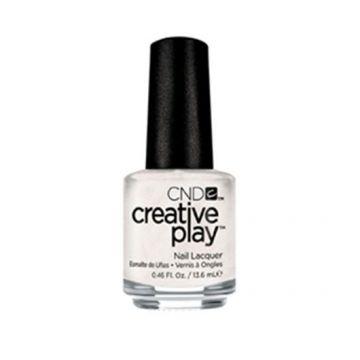 Lac unghii clasic CND Creative Play Bridechilla 13.6 ml