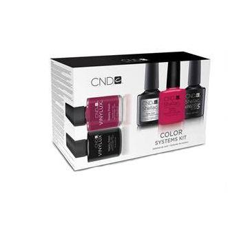 Set lacuri semipermanente CND Color Systems Kit