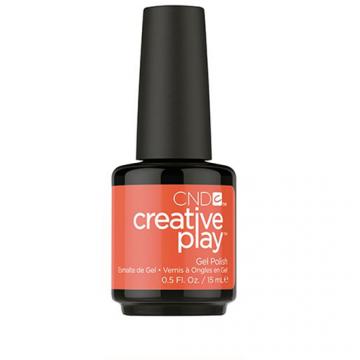 Lac unghii semipermanent CND Creative Play Gel Tangerine Rush #499 15 ml