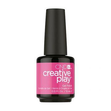 Lac unghii semipermanent CND Creative Play Gel Berry Shocking #409 15ml