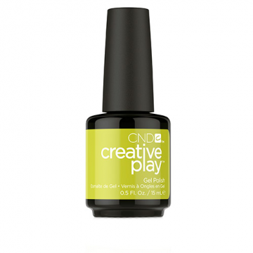 Lac unghi semipermanent CND Creative Play Gel #427 Toe The Lime 15ml