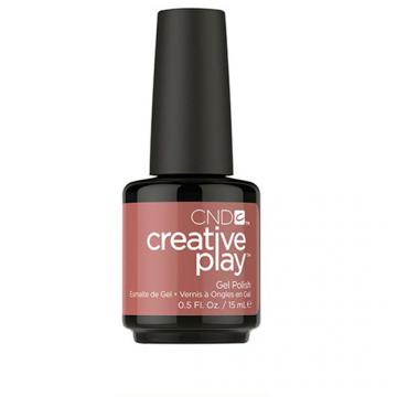 Lac unghii semipermanent CND Creative Play Gel Nuttin to Wear #418 15 ml