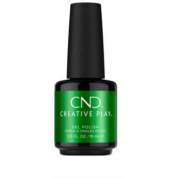Lac unghii semipermanent CND Creative Play Gel #524 Green Sream 15ml