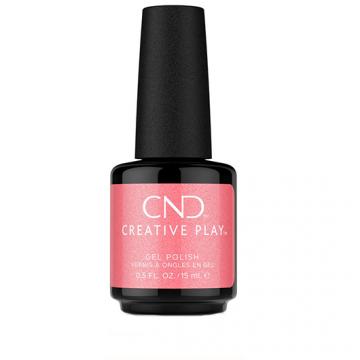 Lac unghii semipermanent CND Creative Play Gel#528 Pink Intensity 15ml