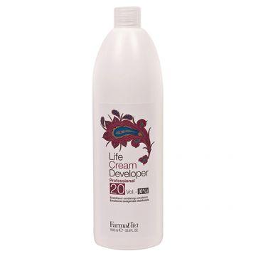 Oxidant Farmavita Cream Developer 20V 1000 ml