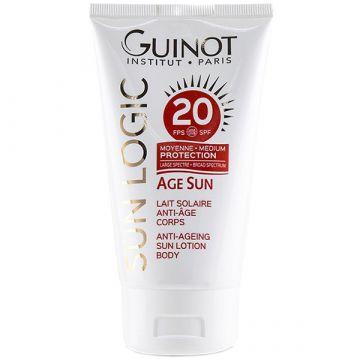 Lapte corp protectie solara Guinot Age Sun SPF 20 150ml