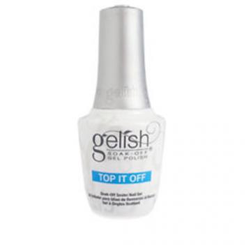 Lac unghii semipermanent Gelish UV Top It Off Sealer Gel 15ml