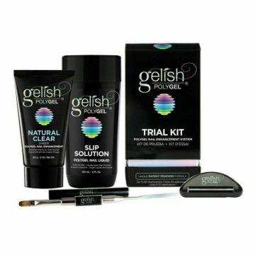 Polygel unghii Gelish Trial Kit 60ml