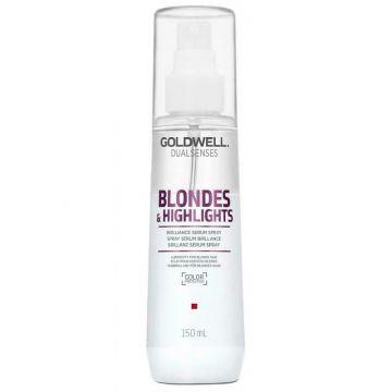 Serum de par Goldwell Dual Senses Blonde & Highlights Shine pentru protectia culorii 150ml