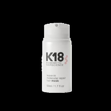 Masca pentru par K18 Leave In molecular repair hair mask 50ml