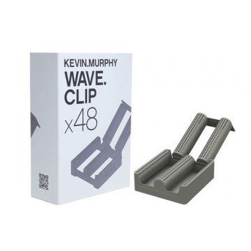 Bigudiuri Kevin Murphy Wave Clips pentru realizarea buclelor wave 48 buc