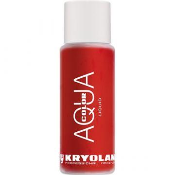 Fard Kryolan Aquacol Wet Make-Up pentru fata si corp 079 Rosu 30ml