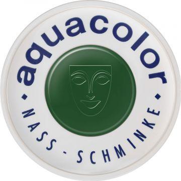 Fard crema Kryolan Aquacolor Wet Make-up 512 pentru fata si corp Verde 30ml