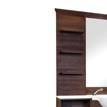Etajera Maletti Display Barber stanga sau dreapta oglinzii