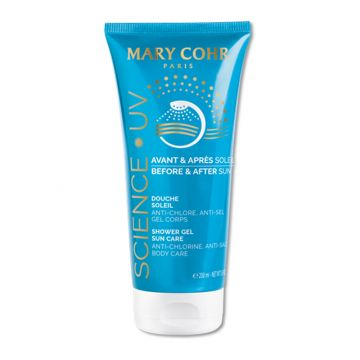 Gel de dus Mary Cohr Douche Soleil cu efect calmant  200 ml
