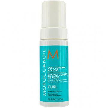 Spuma Moroccanoil Curl Control pentru controlul buclelor 150ml