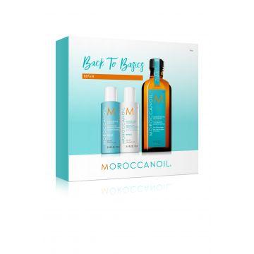 Kit pentru par Moroccanoil Back to Basics Repair