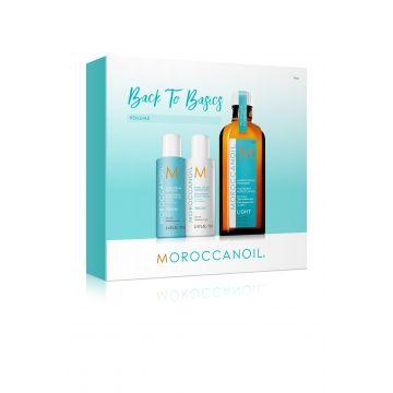 Kit pentru par Moroccanoil Back To Basics Volume