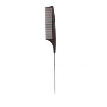 Pieptene Moroccanoil Carbon Combs Metal Tail cu coada din metal