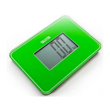 Cantar sticla Tanita Digital HD-386 Verde
