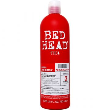 Sampon Tigi Bed Head Styling Urban Antidotes Resurrection Level 3 pentru par deteriorat 750ml