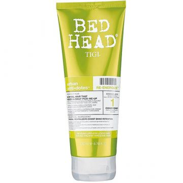 Conditioner  Tigi BED HEAD Styling Urban Antidotes Re-Energize Level 1 pentru par blond  200ml