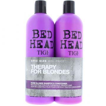 Set Tigi Bed Head Dumb Blonde Sampon+Balsam 2x750ml