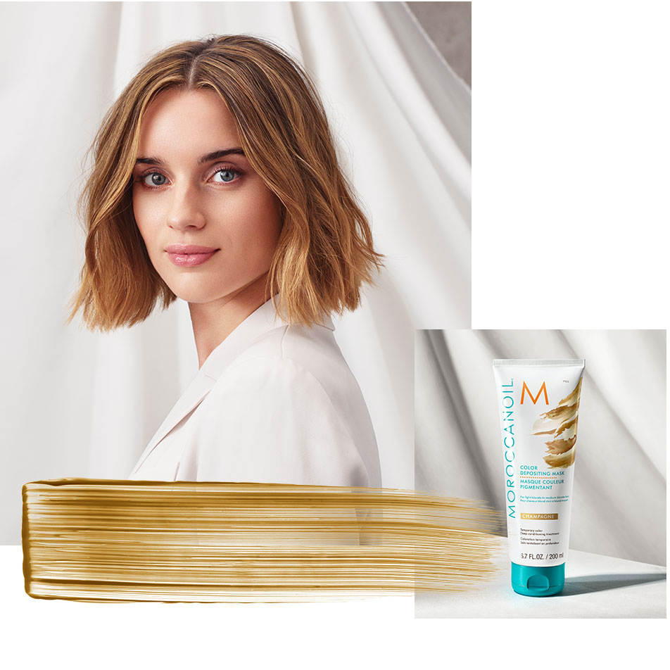 MOROCCANOIL LANSEAZA COLOR DEPOSITING MASK COLLECTION