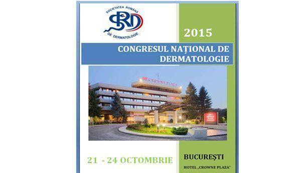CONGRESUL NATIONAL DE DERMATOLOGIE