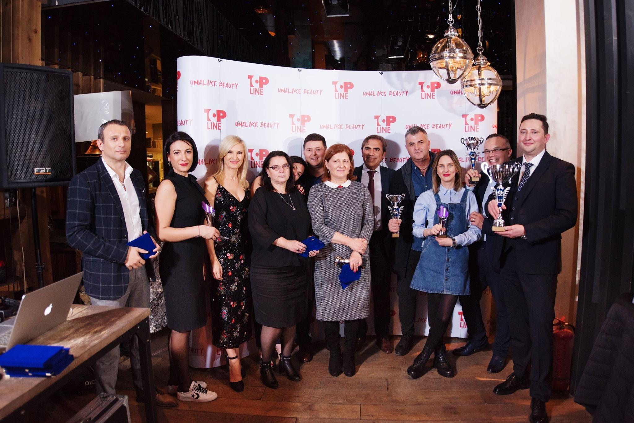Top Line Team Unalike Party 2018 - The Winners