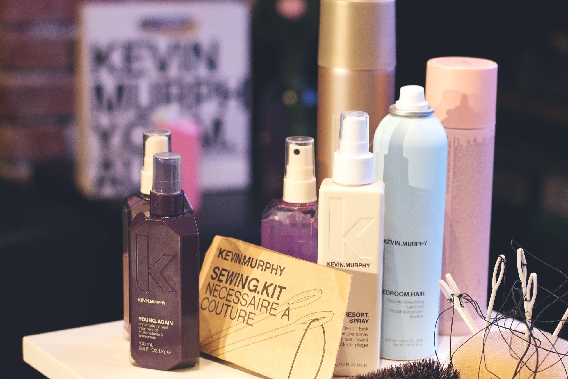 Lansarea produselor de skincare pentru par, Kevin Murphy