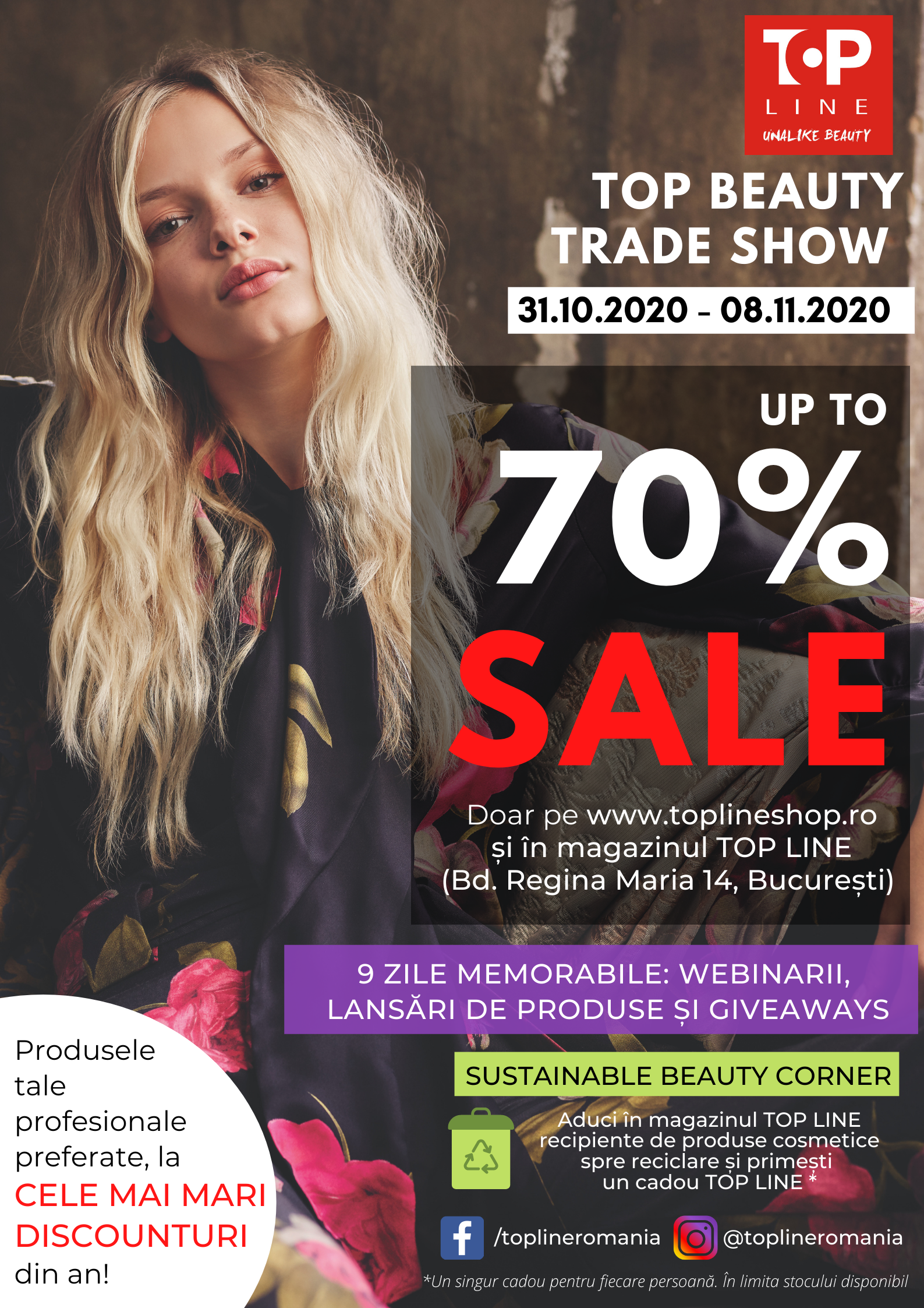 TOP BEAUTY TRADE SHOW 2020