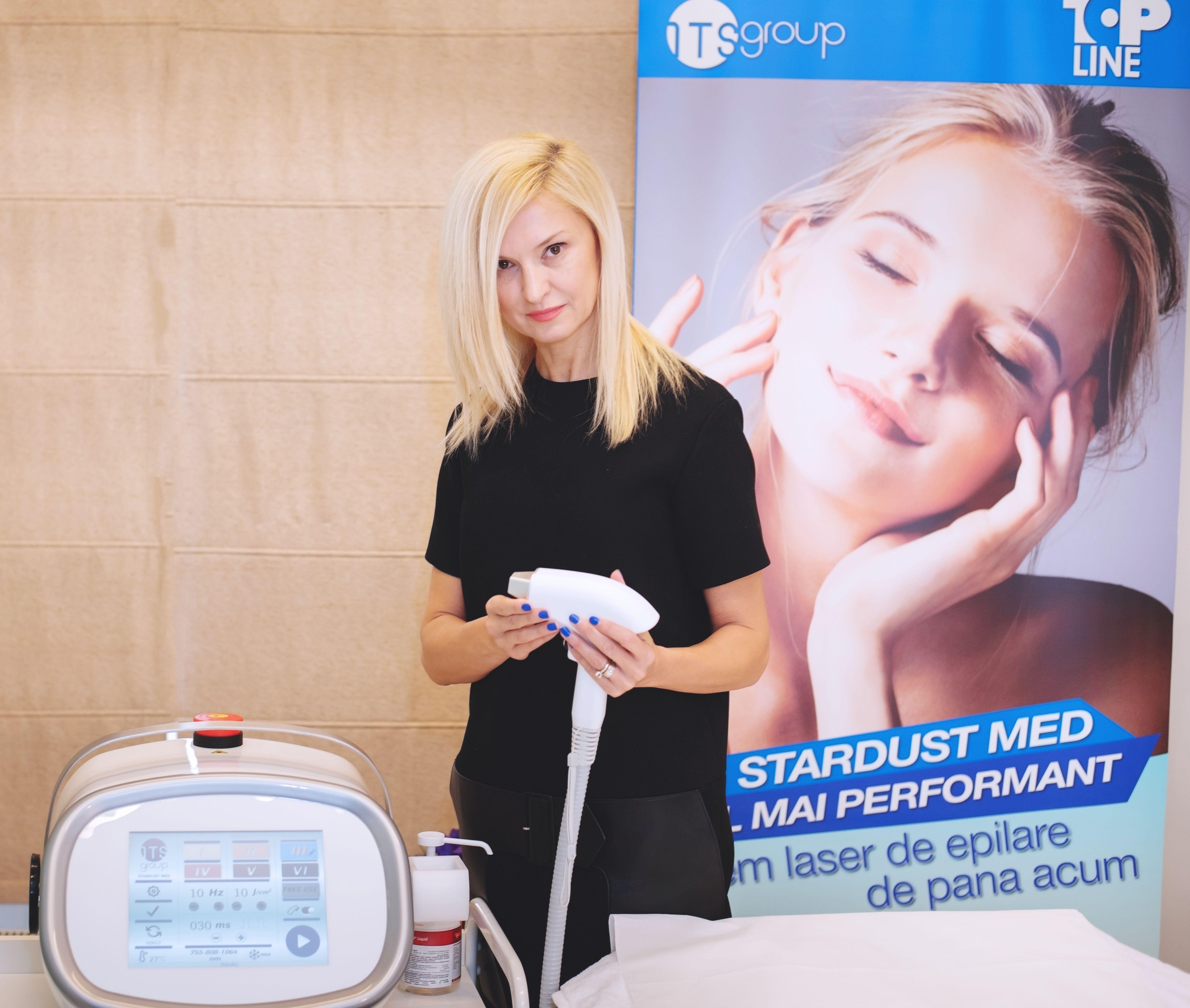Top Line a lansat STARDUST MED, cel mai eficient si confortabil sistem de  epilare definitiva cu laser